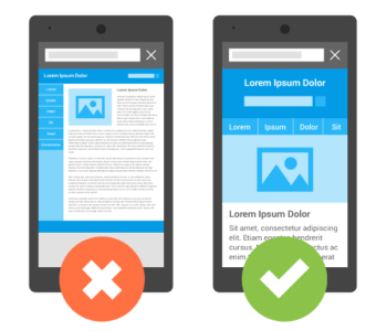 Obtiendrez vous le label Google mobile friendly ?