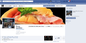 Page Facebook Pizzeria Apollino Cannes